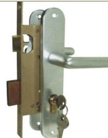 Stainless Steel Mortise Lock Exterior Door Brass Cylinder OEM Service
